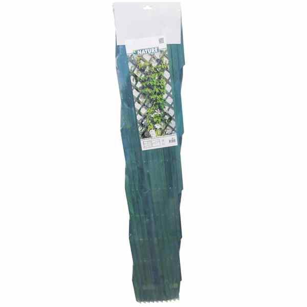 Nature Spaliere de grădină, 2 buc., verde, 100 x 200 cm, lemn