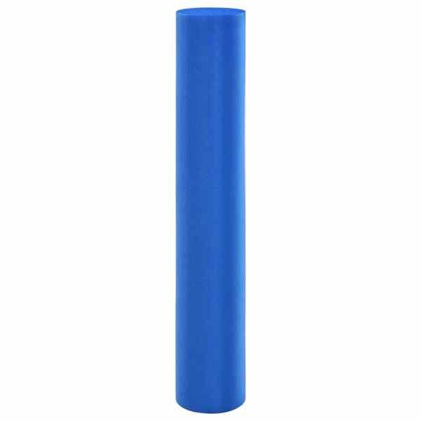 vidaXL Rolă de spumă pentru yoga, albastru, 15 x 90 cm, EPE