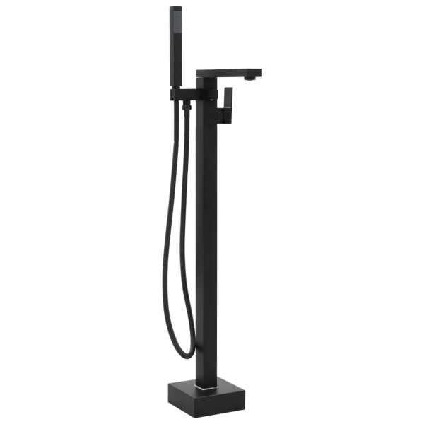 vidaXL Robinet de cadă independent, negru, 90 cm, oțel inoxidabil