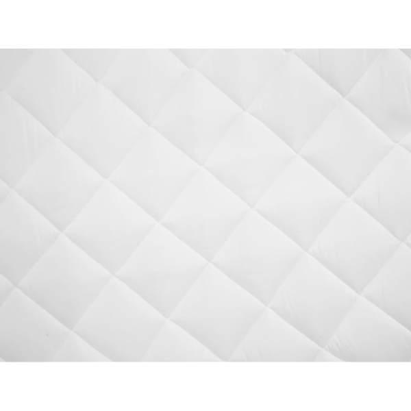 Protecție pentru saltea matlasată, alb, 160 x 200 cm, subțire