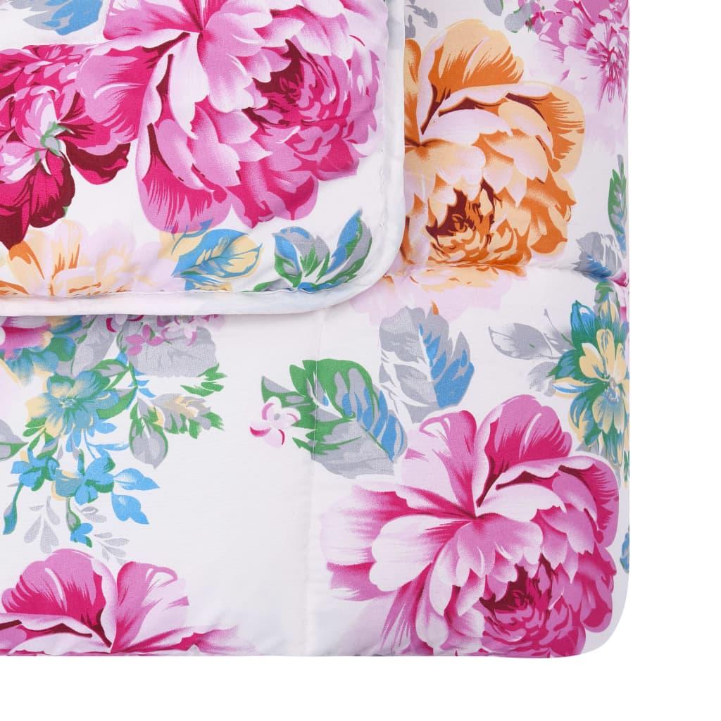 Set pilotă iarnă, 3 piese, imprimeu, 240×220/60×70 cm, textil