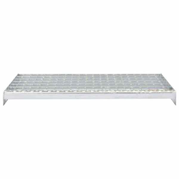 vidaXL Trepte de scară sudate 4 buc. 600 x 240 mm oțel galvanizat