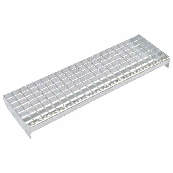 vidaXL Trepte de scară sudate 4 buc. 700 x 240 mm oțel galvanizat