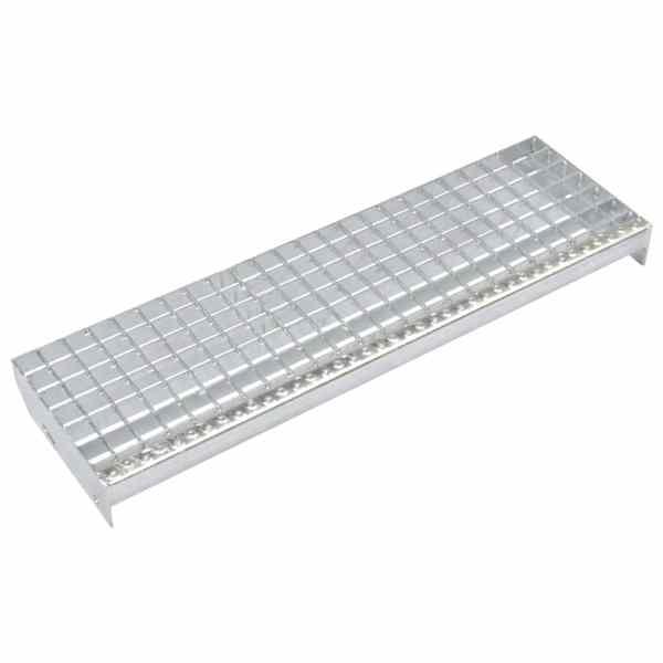 vidaXL Trepte de scară presate 4 buc. 800×240 mm oțel galvanizat