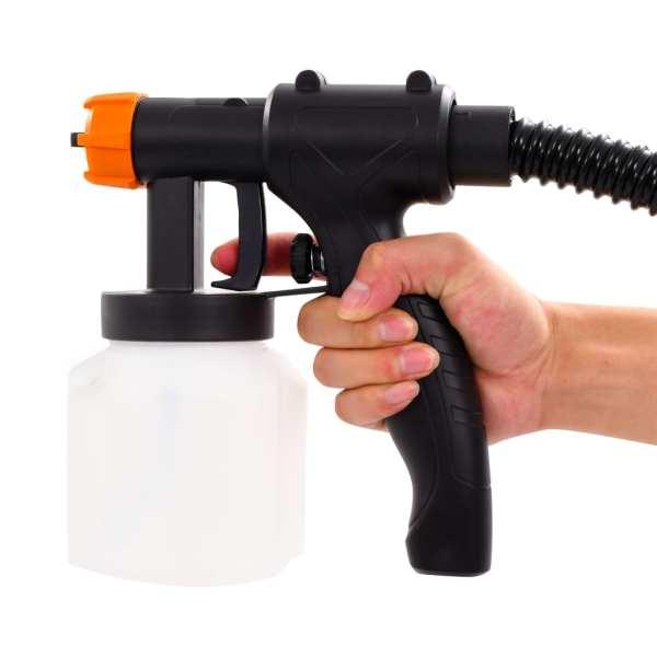 Pistol de vopsit electric cu furtun de aer, 500 W, 800 ml