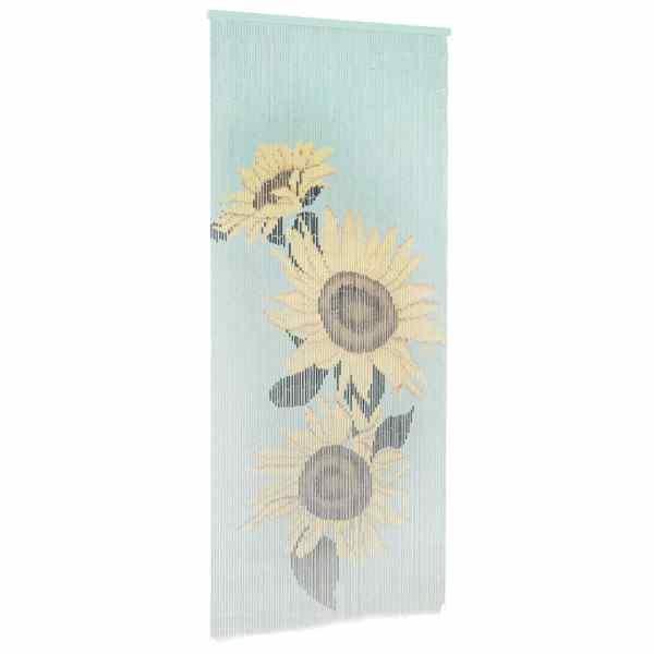 vidaXL Perdea de ușă pentru insecte, 90 x 200 cm, bambus