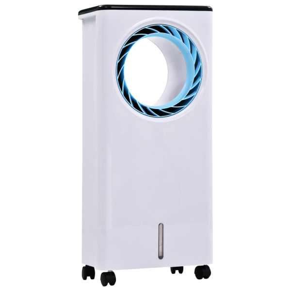 vidaXL Răcitor de aer mobil umidificator purificator 3-în-1, 80 W