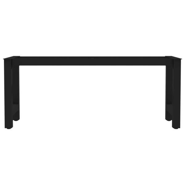 Picioare de bancă cu cadru în formă de H, 105 x 36 x 42 cm