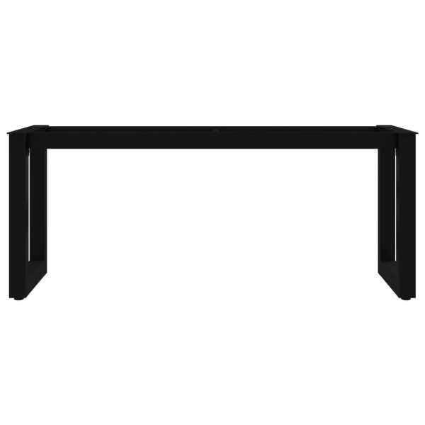 Picioare de bancă cu cadru în formă de O, 105 x 36 x 42 cm