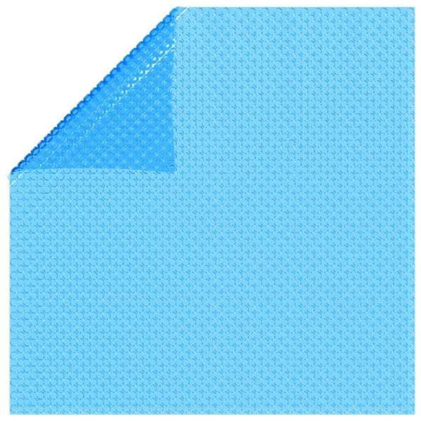 Prelată de piscină, albastru, 356 cm, PE
