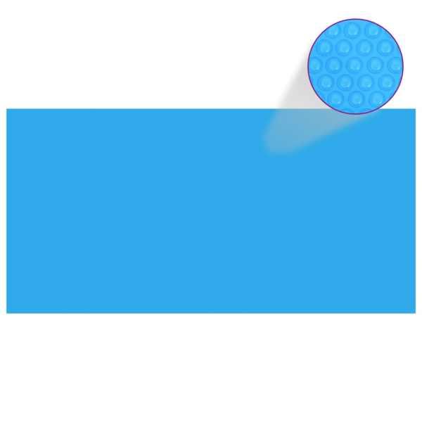 Prelată piscină, albastru, 600 x 300 cm, PE