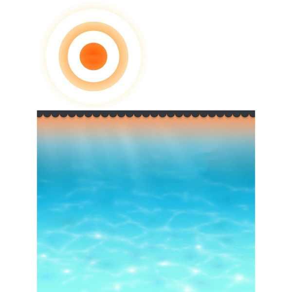 vidaXL Prelată piscină, negru, 417 cm, PE