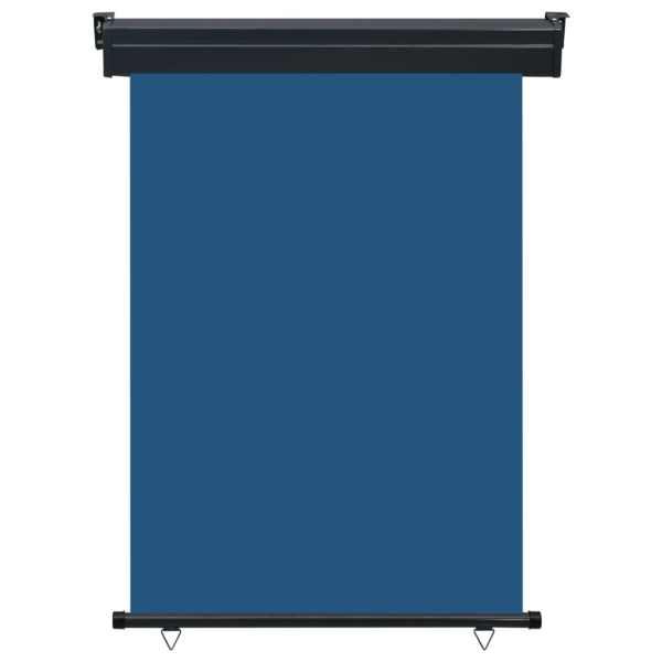 Copertină laterală de balcon, albastru, 120 x 250 cm