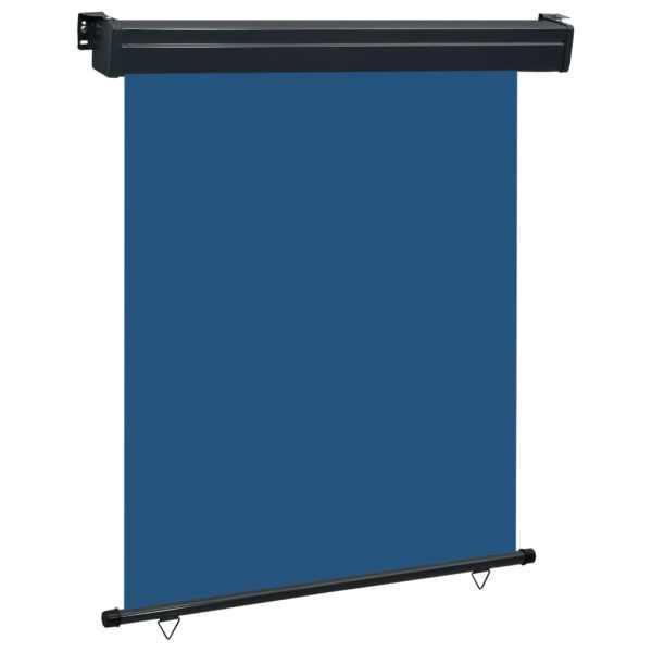 vidaXL Copertină laterală de balcon, albastru, 140 x 250 cm