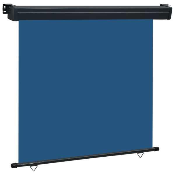 vidaXL Copertină laterală de balcon, albastru, 160 x 250 cm