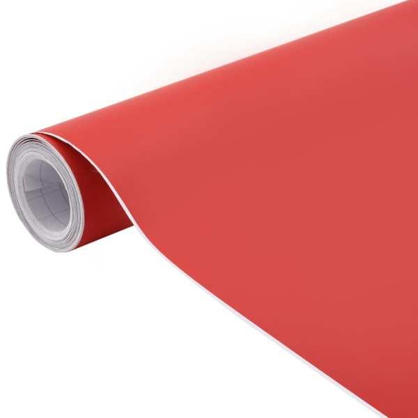 vidaXL Folie auto, roșu, 500 x 152 cm