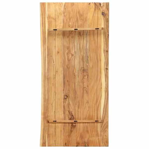 Blat lavoar de baie, 120 x 55 x 2,5 cm, lemn masiv de acacia