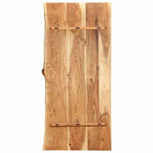 Blat lavoar de baie, 120 x 55 x 3,8 cm, lemn masiv de acacia
