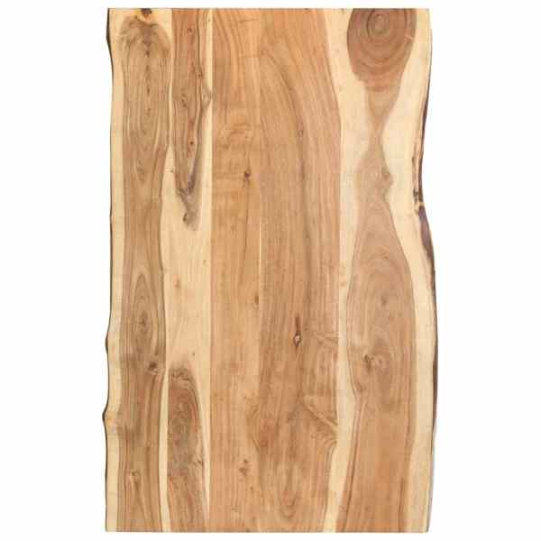 vidaXL Blat de masă, 100x60x3,8 cm, lemn masiv de acacia