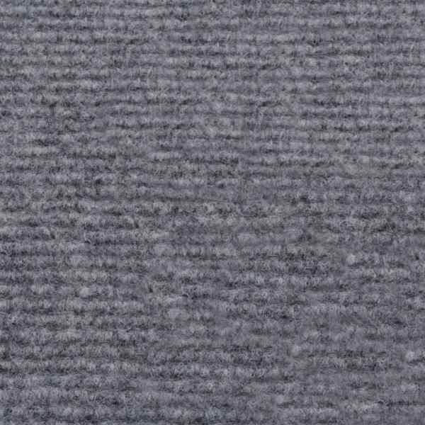 vidaXL Covor pentru expoziții striat, gri, 1,6 x 20 m