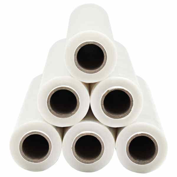 Role de folie pentru paleți, 6 buc., transparent, 20 µm, 720 m