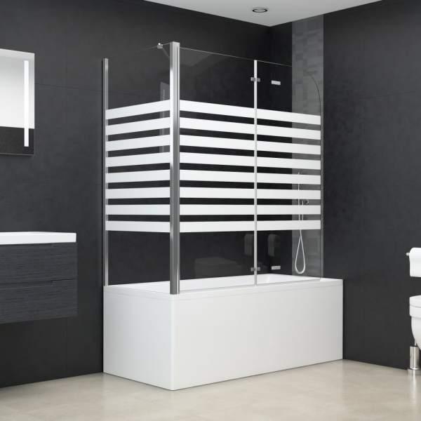 Cabină de baie, 120 x 68 x 130 cm, benzi din sticlă securizată