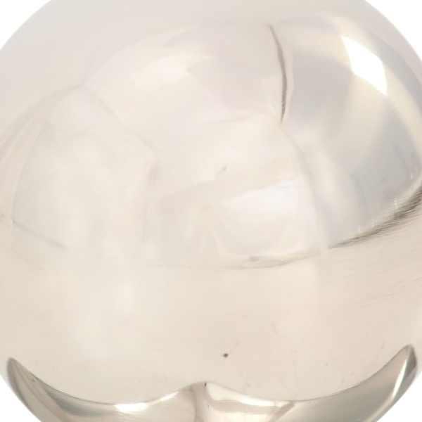 vidaXL Capace stâlpi tip glob, 6 buc., 81×81 mm, oțel inoxidabil