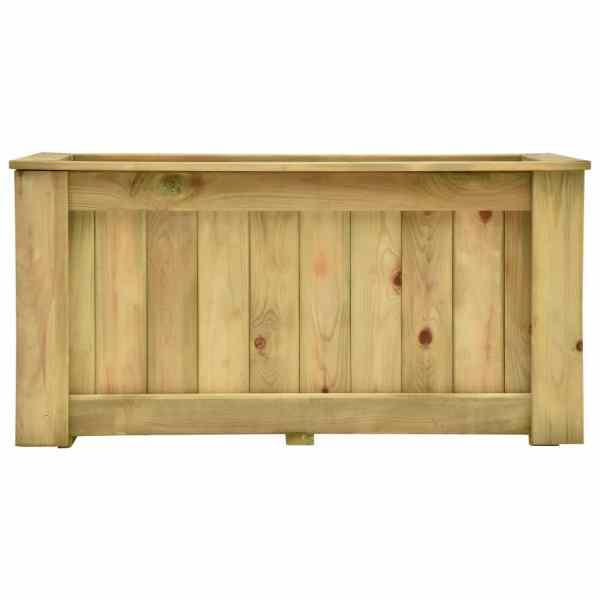 vidaXL Jardinieră înaltă, 100 x 50 x 50 cm, lemn de pin tratat