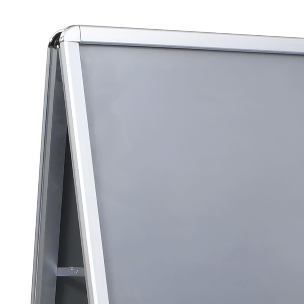 vidaXL Suport afiș publicitar A1, aluminiu