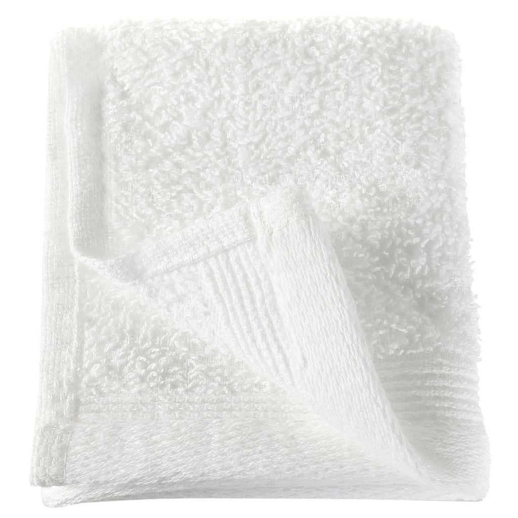 Prosoape oaspeți, 50 buc., alb, 30 x 30 cm, bumbac, 350 gsm