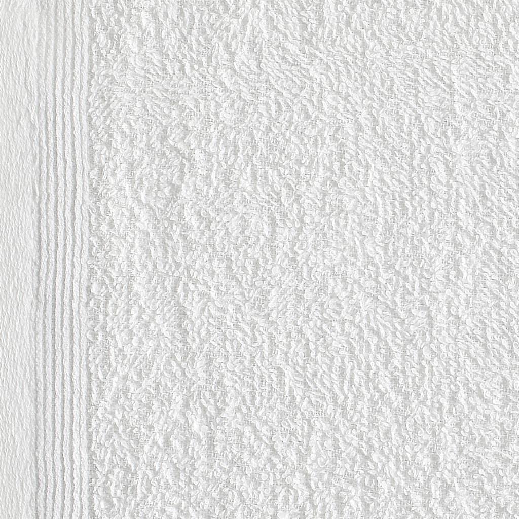Prosoape oaspeți, 50 buc., alb, 30 x 50 cm, bumbac, 350 gsm