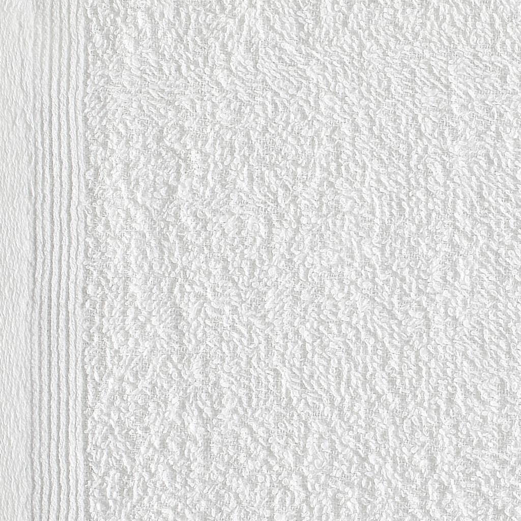 Prosoape oaspeți, 25 buc., alb, 30 x 30 cm, bumbac, 350 gsm