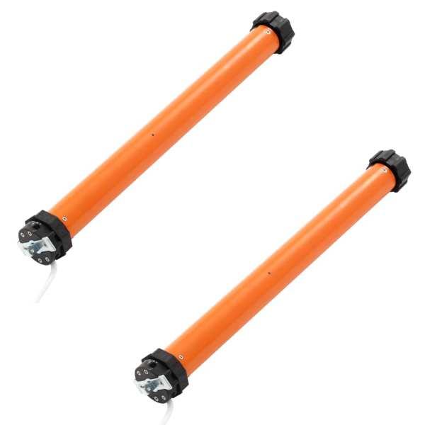 vidaXL Motoare tubulare, 2 buc., 50 Nm