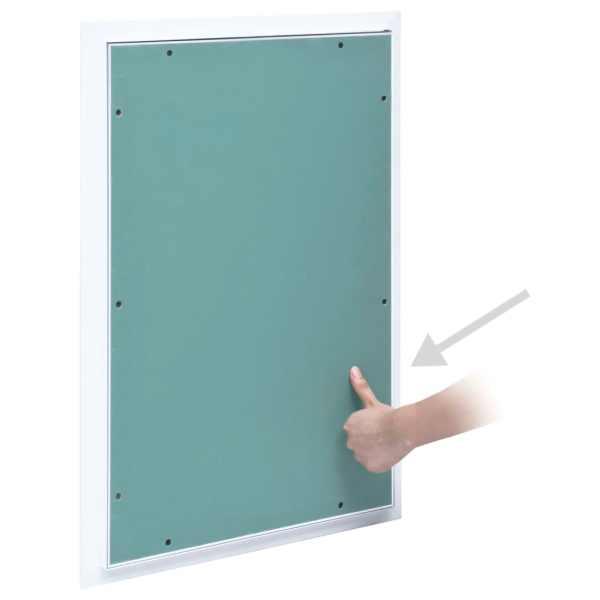 Trapă de acces din gips-carton, cadru de aluminiu, 300 x 600 mm