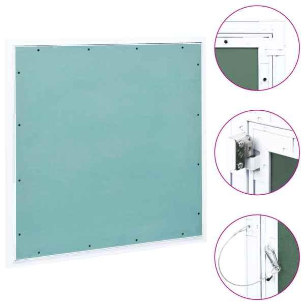vidaXL Trapă de acces din gips-carton, cadru de aluminiu, 600 x 600 mm