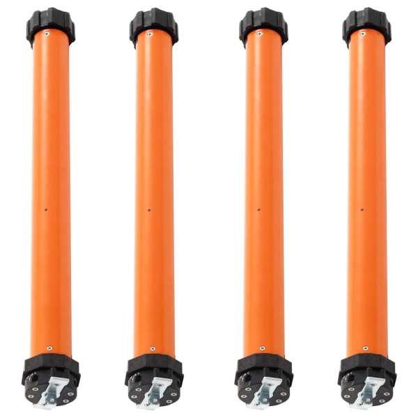 vidaXL Motoare tubulare, 4 buc., 40 Nm