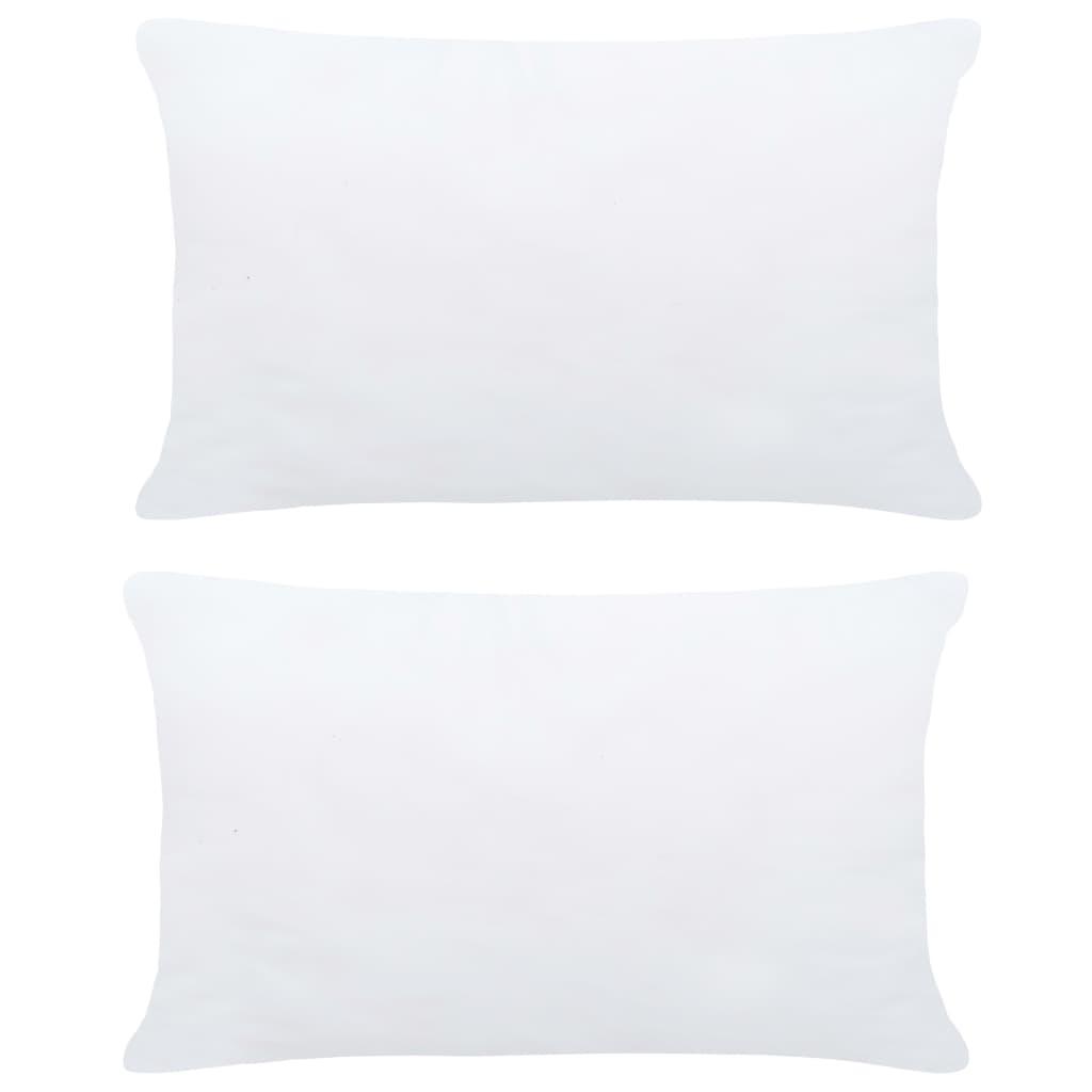 vidaXL Umpluturi de perne, 2 buc., alb, 70 x 50 cm