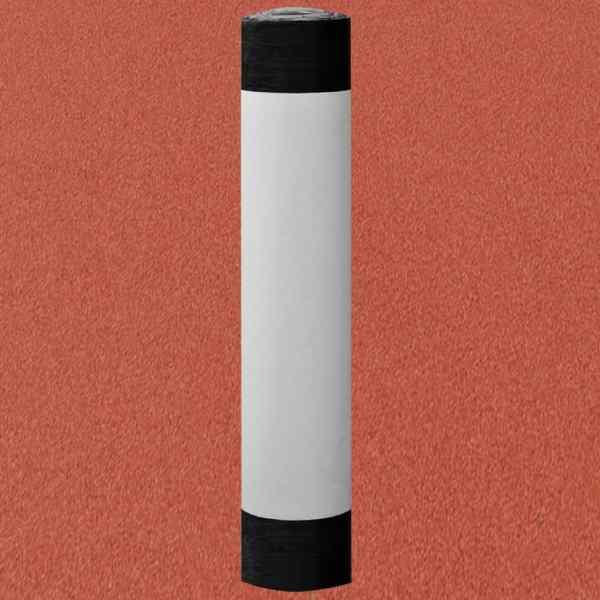 vidaXL Membrană bituminoasă acoperiș pâslă V60 S4, roșu, 1 rolă, 5㎡