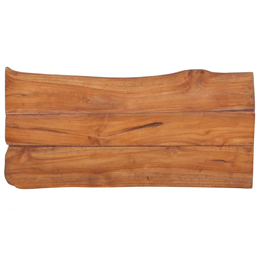 vidaXL Bancă de grădină, 80 cm, lemn masiv de tec