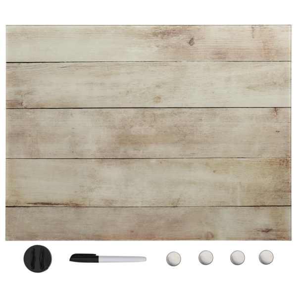 vidaXL Tablă magnetică de perete, 60 x 80 cm, sticlă