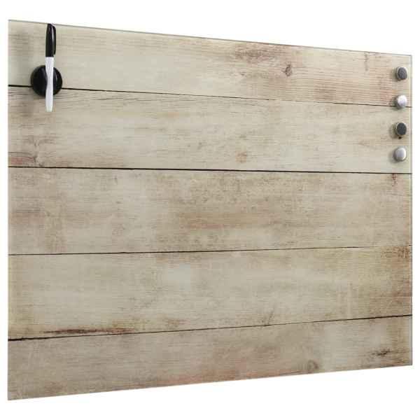 Tablă magnetică de perete, 60 x 80 cm, sticlă