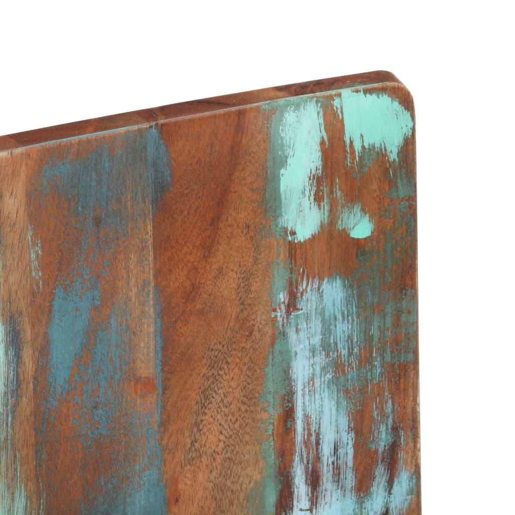 Scaune de bucătărie, 2 buc., lemn masiv reciclat