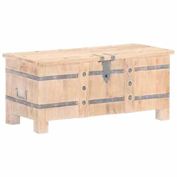 vidaXL Cufăr, 90 x 40 x 40 cm, lemn masiv de acacia