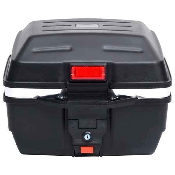 vidaXL Cutie portbagaj pentru motociclete 24 L pentru 1 cască
