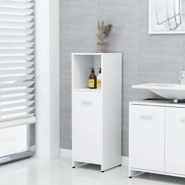 vidaXL Dulap de baie, alb, 30 x 30 x 95 cm, PAL