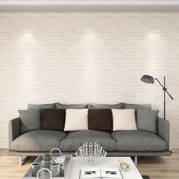 vidaXL Panou de perete 3D, 12 buc., 0,5 x 0,5 m, 3 m²