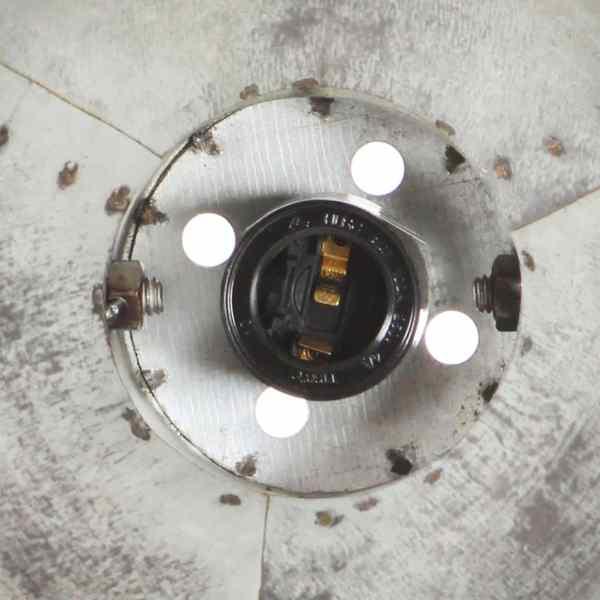 Lampă de perete industrială, argintiu, 90 x 25 cm, E27