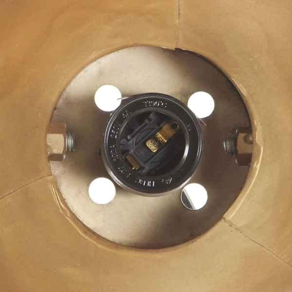 Lampă de perete industrială, arămiu, 65 x 25 cm, E27