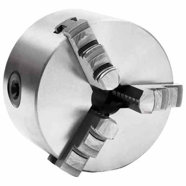 vidaXL Mandrină de strung cu 3 fălci, 100 mm, oțel
