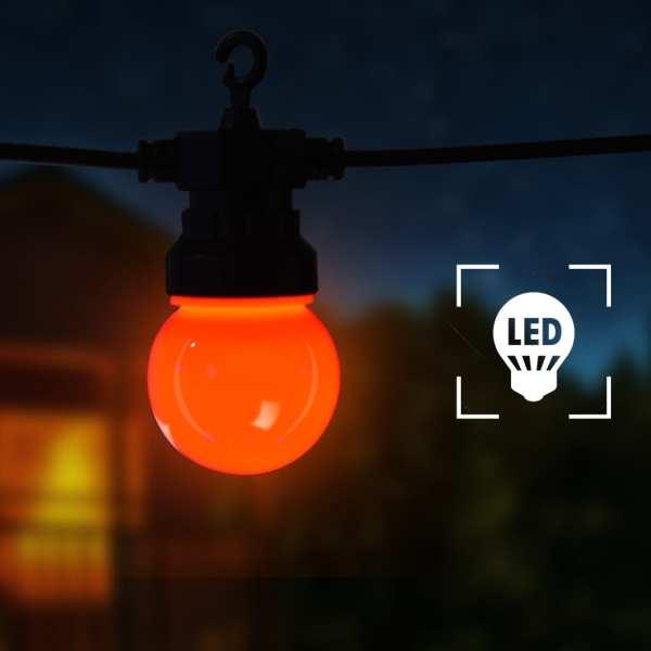 vidaXL Ghirlandă lumini exterior, 60 buc., 59 m, rotund, decor Crăciun